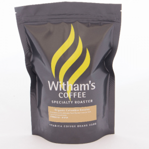 Witham's Coffee Beans - Organic Colombia Excelso - Green Beans