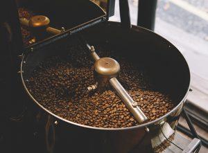 Roasting beans