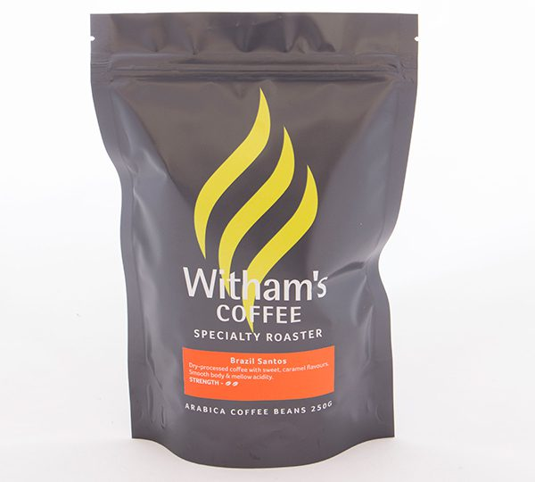 Witham's Coffee Beans - Brazil Santos
