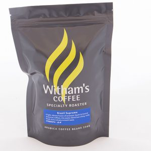 Witham's Coffee Beans - Brazil Supreme
