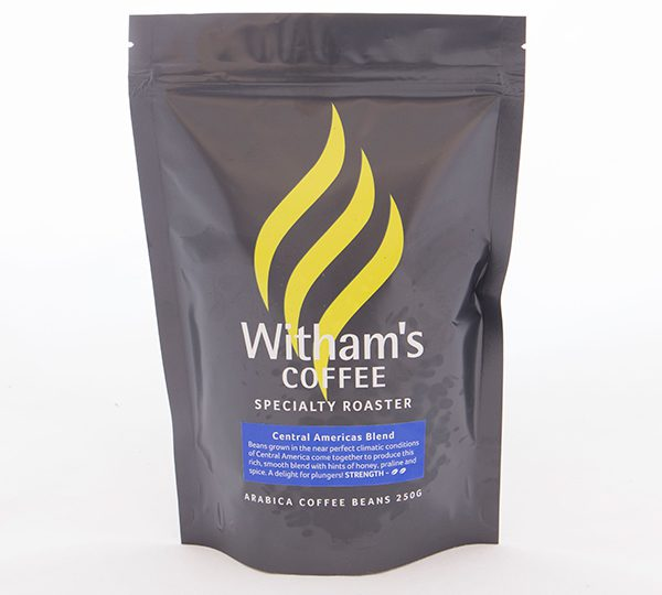 Witham's Coffee Beans - Central Americas Blend