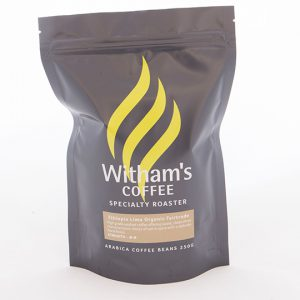 Witham's Coffee Beans - Ethiopia Limu Organic Fairtrade