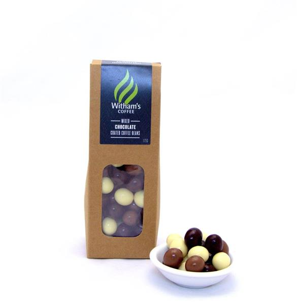 Witham's Mixed Chocolate Coated Coffee Beans