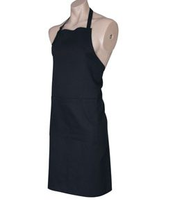 Witham's Coffee Black Apron - BIB - black