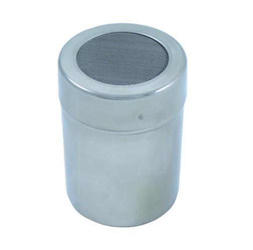 Stainless Steel Cocoa Shaker - Mesh Lid