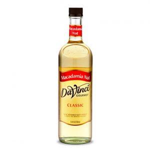 Da Vinci Syrup - Macadamia nut