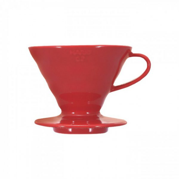 Hario V60 Dripper Red Porcelain