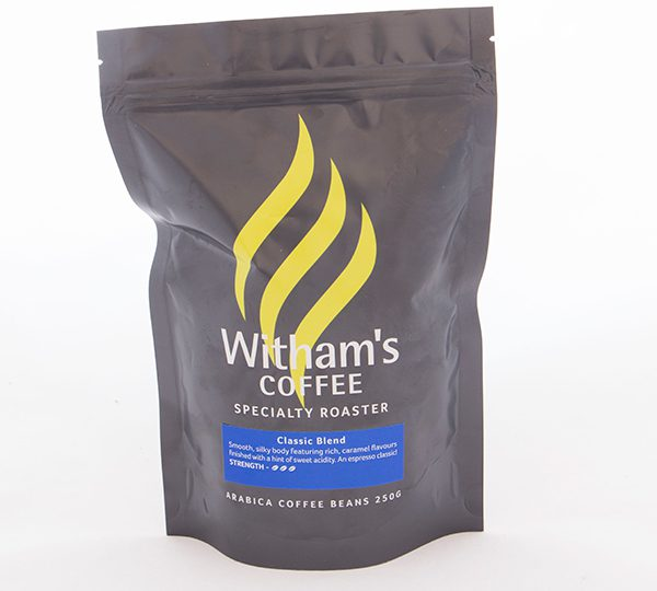 Witham's Coffee Beans - Classic Blend