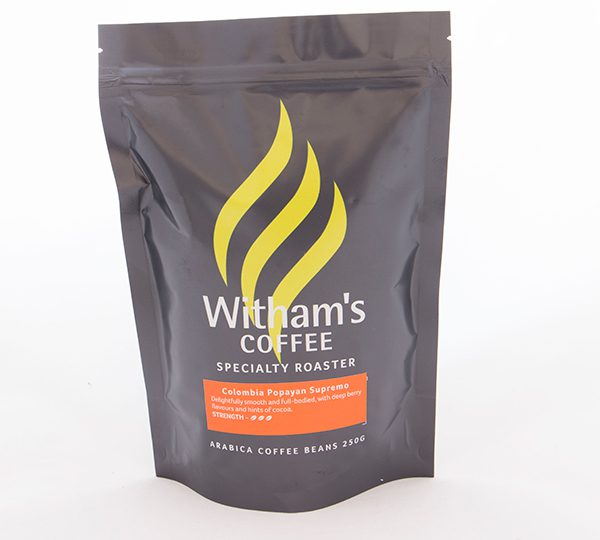 Witham's Coffee Beans - Colombia 'Popayan' Supremo