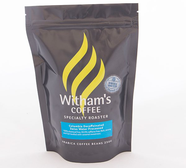 Witham's Coffee Beans - Decaf