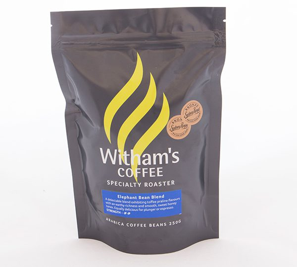 Witham's Coffee Beans - Elephant Bean Blend
