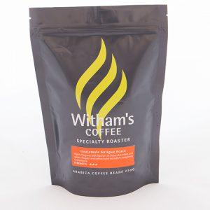 Witham's Coffee Beans - Guatemala Antigua Acate Shb