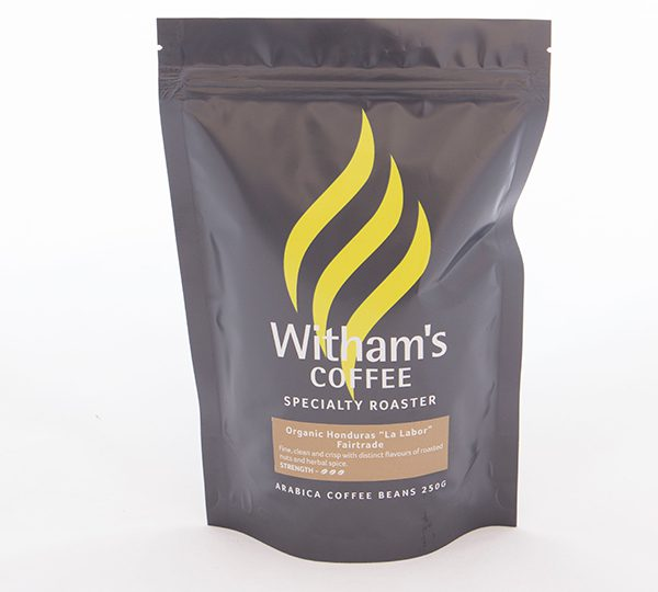 Witham's Coffee Beans - Organic Honduras 'La Labor' Fairtrade